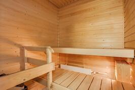 Sauna siistikuntoinen