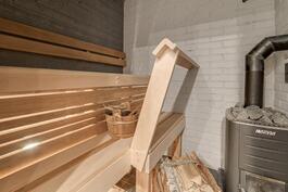 Vastavalmistunut sauna