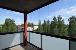 Näkymä asunnon 13. parvekkeelta