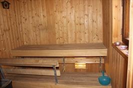 2008 uusittu sauna, puulämm.kiuas
