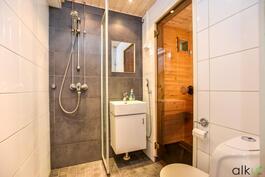 Remontoitu kylpyhuone on ilo silmälle ja käytännöllinen arjessa