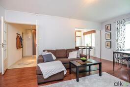 Olohuone toimii kodin keskipisteenä.