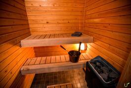 Oma tunnelmallinen sauna - arjen luksusta!