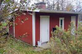 sauna/liiterirakennus