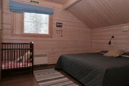 yläkerran Pohjois-päädyn makuuhuone