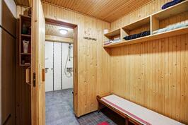 saunan pukuhuone