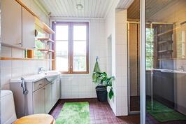 1 krs:n wc/- kylpyhuone