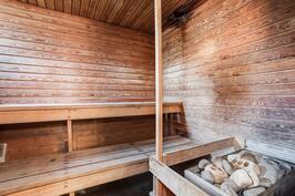 Sauna odottaa myös remonttia