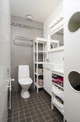 Erillinen wc - helpotus arkeen