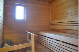Yläkerta - Sauna