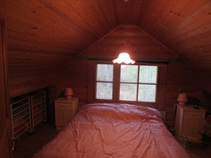 Parven makuutila / Bedroom in Upstairs