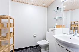 Alakerran tilava, erillinen wc.