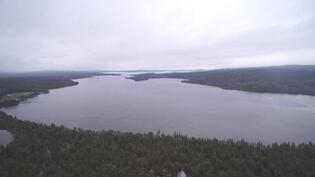 Sevettijärven pohjoisosaa