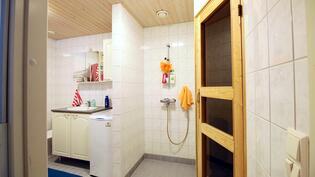 Erillinen kaksio kylpyhuone