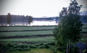 Kesällä maisema on satumaisen kaunis!