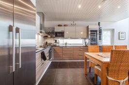 Tämä keittiö on kokkaajan unelma