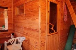 sauna ja saunakammari