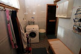 Puku-/kylpyhuone
