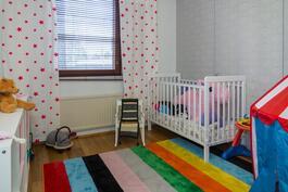 Makuuhuone 2. on lastenhuone