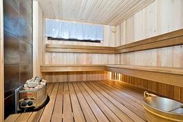 Sauna uusittu kokonaan 2013