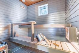 Tunnelmallinen sauna - nauti lempeistä löylyistä koska haluatkin