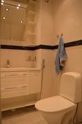 Alakerran wc on myös uusittu taannoin