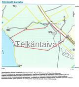 Kiinteistön kartta Telkänranta
