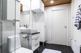 Täällä on tila myös pesutornille.