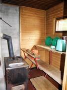 sauna on käyttökunnossa