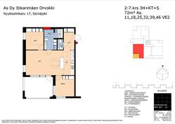 Vaihtoehtoinen huoneistopohja (alustava)