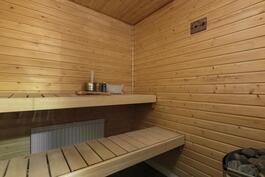 Saunaon uusittu