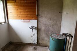 vanhan puolen kylpyhuone