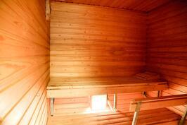 uusi osa sauna