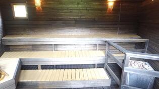 Kylätalon yhteinen sauna