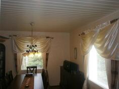 1.makuuhuone tai ruokahuone (alakerta)