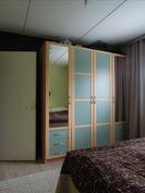makuuhuone 1 kaapistot