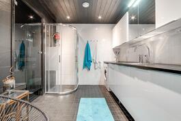 Kylpyhuone/kodinhoitohuone