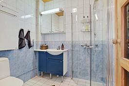 Siistit suihkuseinät/ Snygga duschväggar.