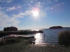Kuvaa n. 800 m päässä olevasta Karhijärven yleisestä venesatamasta!