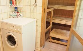pk-liitäntä ja käynti saunaan