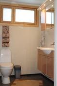 Alakerran wc.