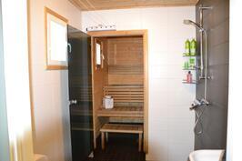 Sauna + pesuhuone