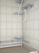 A 4 huoneiston kylpyhuone