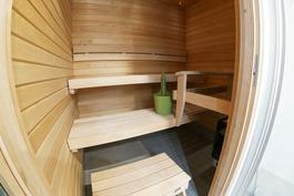 Sauna valmiista asunnosta