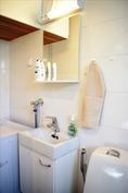 Pesuhuoneen wc-tila