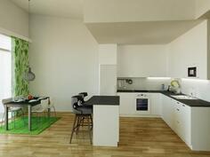 Havainnekuva keittiöstä