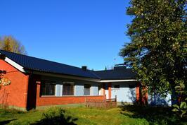 Talo takapihalta