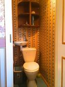 Kuva yläkerran erillisestä wc:stä