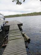 isolla veneellä pääsee rantaan