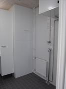Kylpyhuone, pesutornin paikka